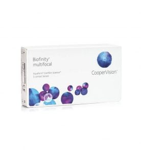 Cooper Vision Biofinity Multifocal Μηνιαίοι 3pack