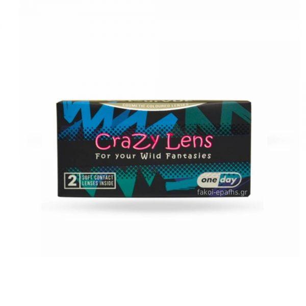 ColourVUE Crazy Lens One Day Έγχρωμοι Ημερήσιοι 2pack