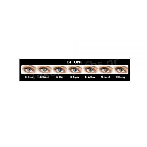 Eyemed Adore Bi-Tone Τριμηνιαίοι Έγχρωμοι Φακοί Επαφής(2 τεμ)
