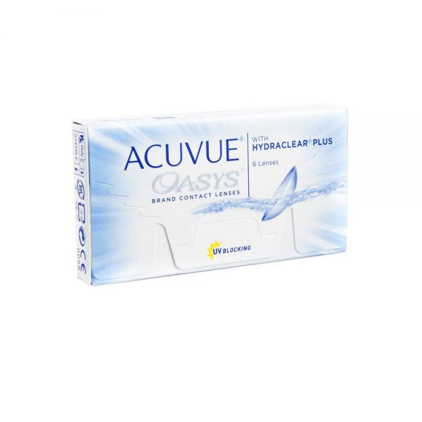 Johnson & Johnson Acuvue Oasys with Hydraclear Δεκαπενθήμεροι Φακοί Επαφής(6 τεμ.)