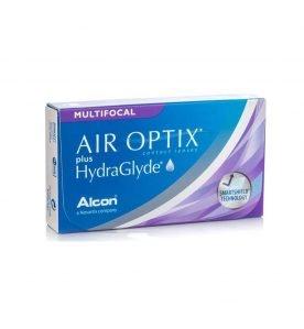 Alcon Air Optix Plus Hydraglyde Multifocal Μηνιαίοι Πολυεστιακοί Φακοί Επαφής 3τμχ