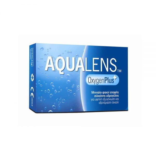 Aqualens Oxygen Plus Μηνιαίοι Φακοί Επαφής (3 φακοί)