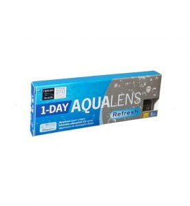 Aqualens Refresh 1Day Ημερήσιοι Φακοί Επαφής (5 τεμ.)