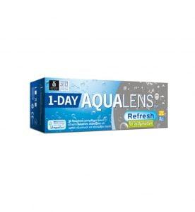 Aqualens Refresh 1 Day for astigmatism Ημερήσιοι Αστιγματικοί Φακοί Επαφής(30 τεμ.)
