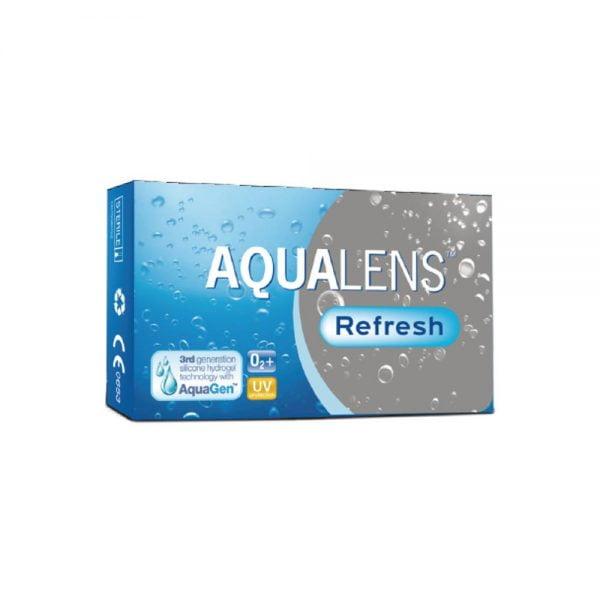 Aqualens Refresh Mηνιαίοι Φακοί Επαφής 3pack