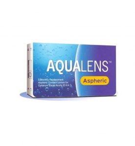 Aqualens Aspheric Μηνιαίοι Φακοί Επαφής (3 τεμ.)