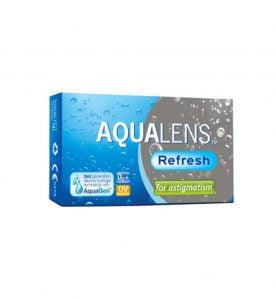 Aqualens Refresh For Astigmatism Μηνιαίοι Αστιγματικοί Φακοί Επαφής (3 φακοί)