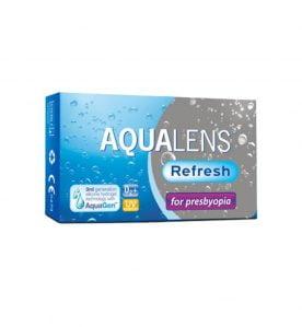 Aqualens Refresh For Presbyopia Μηνιαίοι Πολυεστιακοί Φακοί Επαφής (3 φακοί)