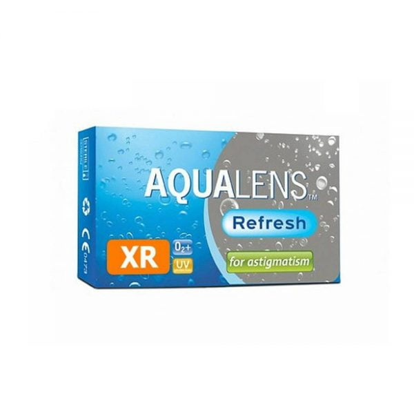 Aqualens Refresh For Astigmatism XR Μηνιαίοι Αστιγματικοί Φακοί Επαφής (3 φακοί)