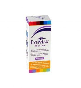 Eyemax All in One Διάλυμα Απολύμανσης και Ενυδάτωσης Φακών Eπαφής 360ml