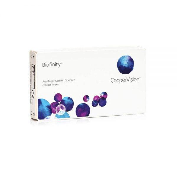 Cooper Vision Biofinity Μηνιαίοι 3pack