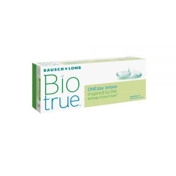 Bausch & Lomb Biotrue OneDay Hμερήσιοι φακοί επαφής (30 φακοί)