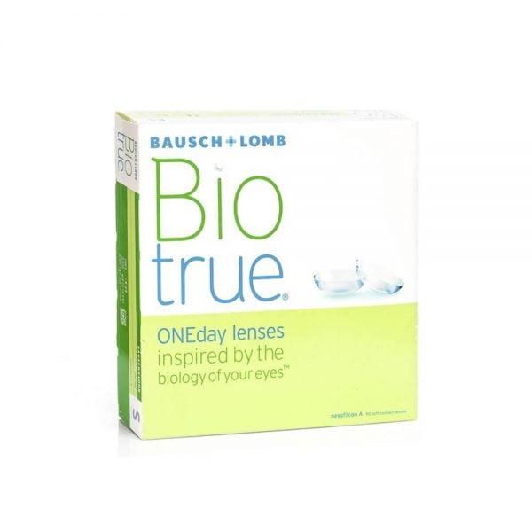 Bausch & Lomb Biotrue OneDay Hμερήσιοι φακοί επαφής (90 φακοί)