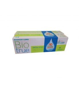 Bausch & Lomb Biotrue OneDay Hμερήσιοι φακοί επαφής (30 φακοί + 10 ΔΩΡΟ)