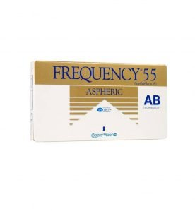 Cooper Vision Frequency 55 Aspheric Μηνιαίοι 3pack
