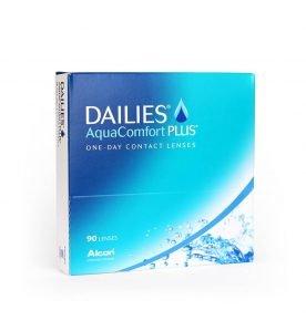 Alcon Dailies Aqua Comfort Plus Ημερήσιοι Φακοί επαφής Μυωπίας-Υπερμετρωπίας (90 τεμ.)