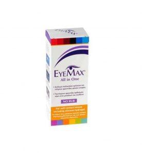 Eyemax All in One Διάλυμα Απολύμανσης και Ενυδάτωσης Φακών Eπαφής 100ml