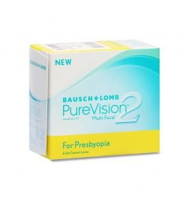 Bausch & Lomb PureVision 2 Multi-Focal Μηνιαίοι Πολυεστιακοί Φακοί Επαφής (6 Pack)