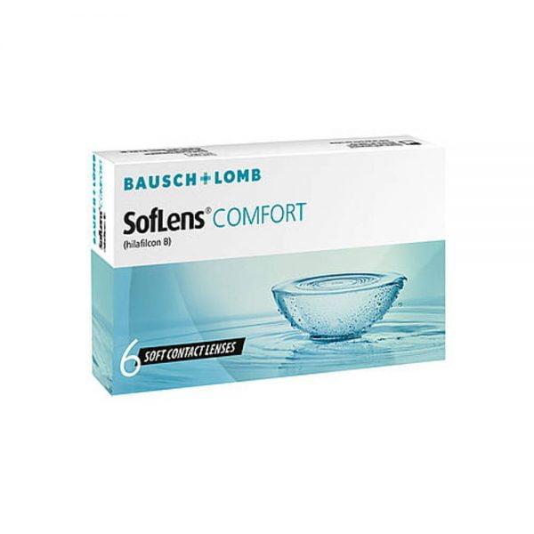 Bausch & Lomb Soflens Comfort Μηνιαίοι Φακοί Επαφής (6 Φακοί)