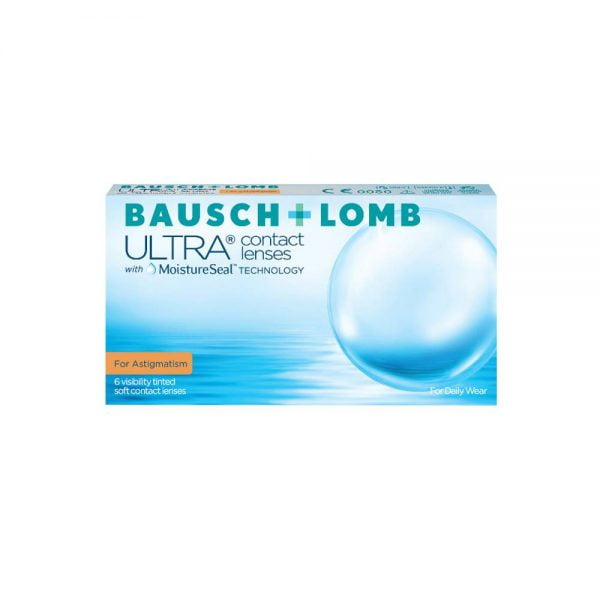Bausch & Lomb Ultra For Astigmatism Μηνιαίοι Φακοί Επαφής (3 τεμ.)
