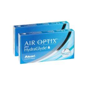 Alcon (Ciba Vision) Air Optix Plus Hydraglyde Μηνιαίοι Φακοί - Επαφής (12 φακοί)