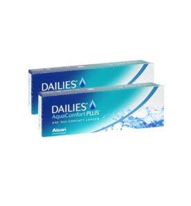 Alcon (Ciba Vision) Dailies Aqua Comfort Plus Ημερήσιοι Φακοί επαφής (60 τεμ)