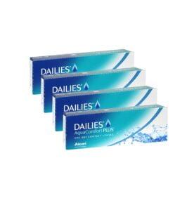 Alcon (Ciba Vision) Dailies Aqua Comfort Plus Ημερήσιοι Φακοί επαφής (120 τεμ)