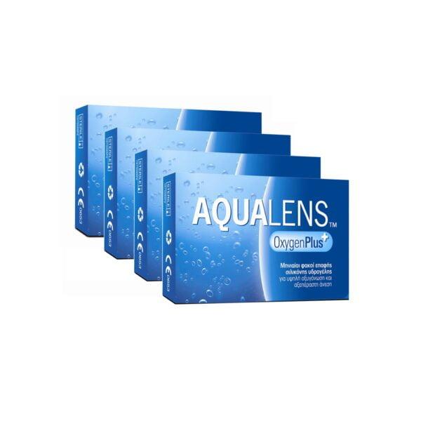 Aqualens Oxygen Plus Μηνιαίοι Φακοί Επαφής (12 φακοί)