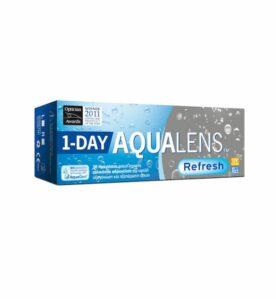 Aqualens Refresh 1Day Ημερήσιοι Φακοί Επαφής (30 τεμ.)
