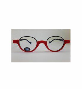 Γυαλιά για Προστασία Οθόνης με Στρογγυλεμένο Κόκκινο Σκελετό